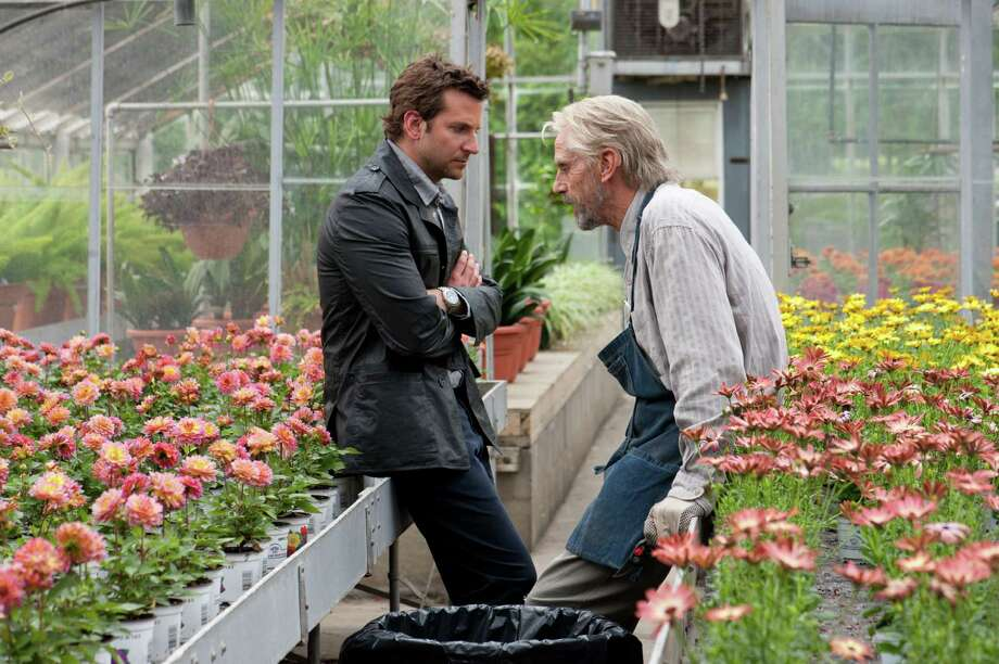 "This film image released by CBS Films shows Bradley Cooper and Jeremy Irons in a scene from ""The Words."" (AP Photo/CBS Films, Jonathan Wenk) Photo: Jonathan Wenk"