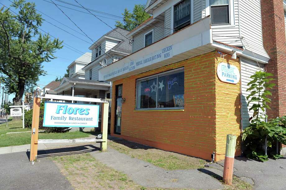 A view of the outside of Flores Family Restaurant on Sunday, Sept. 2, 2012 in Schenectady, NY.  (Paul Buckowski / Times Union) Photo: Paul Buckowski