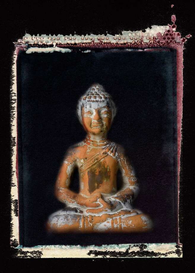 "Photographer Jay Misencik's new show will run at the Easton Public Library through Oct. 15. It opens at 6 p.m. Wednesday, Sept 12, with a free reception. Above is ""Buddha,"" a Polaroid transfer. Photo: Contributed Photo"