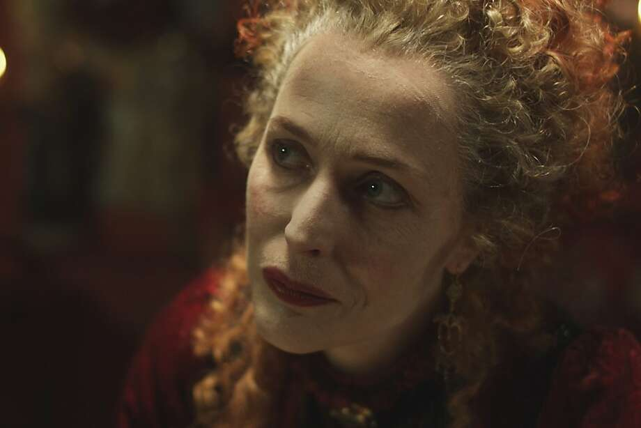 "Mrs. Castaway (Gillian Anderson) runs a brothel in ""The Crimson Petal and the White"" miniseries. Photo: Encore"