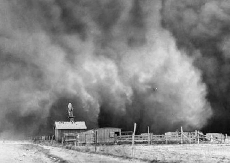 "Image from Ken Burns' PBS documentary, ""The Dust Bowl."" Photo: PBS / ONLINE_YES"