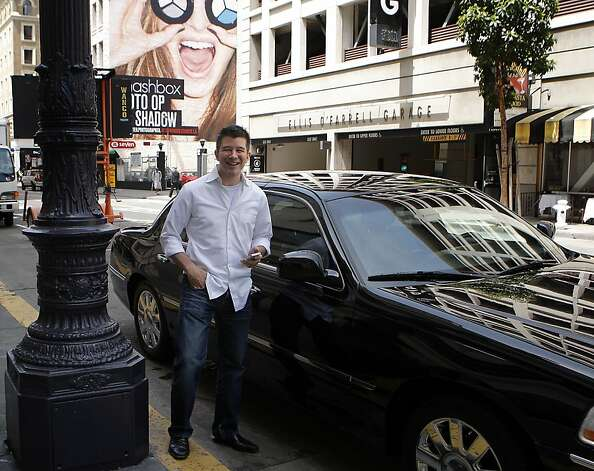 Uber, under CEO Travis Kalanick, faces regulatory constraints designed to protect the taxi industry. Photo: Siana Hristova, The Chronicle