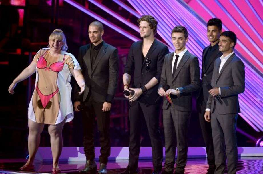The Wanted definitely over dressed. (Kevin Winter / Getty Images)