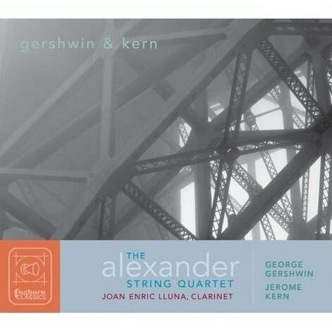 Alexander String Quartet CD cover Photo: Foghorn Classics