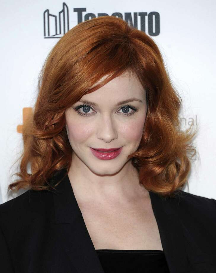 "Actress Christina Hendricks attends Jason Reitman's Live Read of ""American Beauty"" during the Toronto International Film Festival on Thursday Sept. 6, 2012 in Toronto. (Photo by Evan Agostini/Invision/AP) Photo: Evan Agostini, EVAN AGOSTINI /INVISION/AP / Invision"