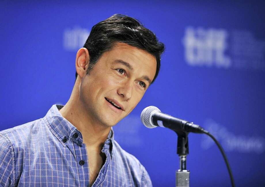 "Actor Joseph Gordon-Levitt speaks during the press conference for his new movie ""Looper"" during the 2012 Toronto International Film Festival in Toronto on Thursday, Sept. 6, 2012. Photo: Aaron Vincent Elkaim, AP / The Canadian Press"