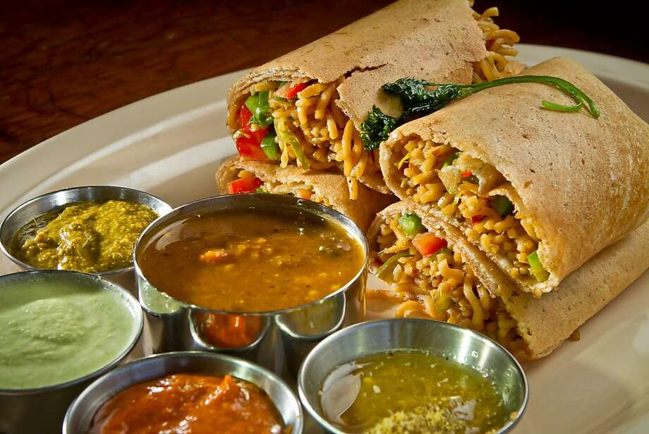 Tangra Dosa is a specialty at the Dosa Republic in San Mateo. Photo: John Storey
