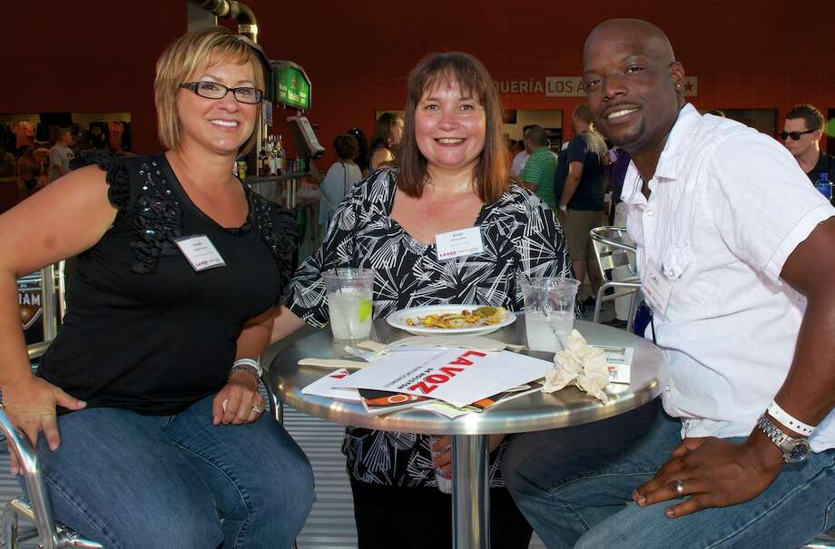 L-R: Jennifer Gorsche, Kristi Luther, Chadd Haynes Photo: Jay Dryden