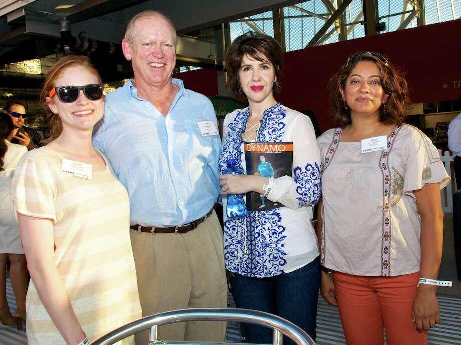 L-R: Alison Sutton, Jack Sweeney, Arlene Kelsch, Divya Visentini Photo: Jay Dryden