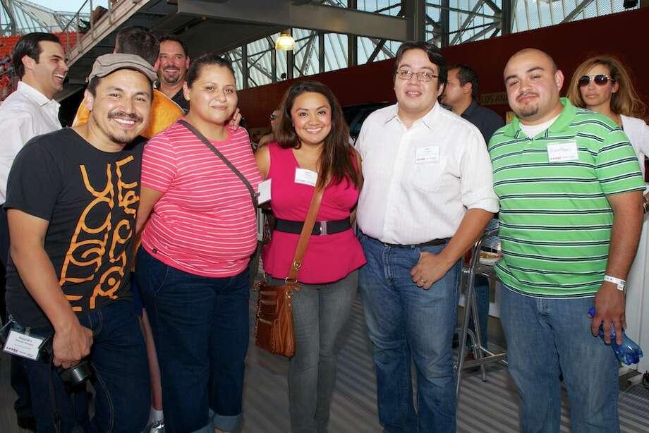L-R: Alejandro Montoya, Anjelica Cazares, Jackie Gil, Juan Alanis, Morses Alanis Photo: Jay Dryden
