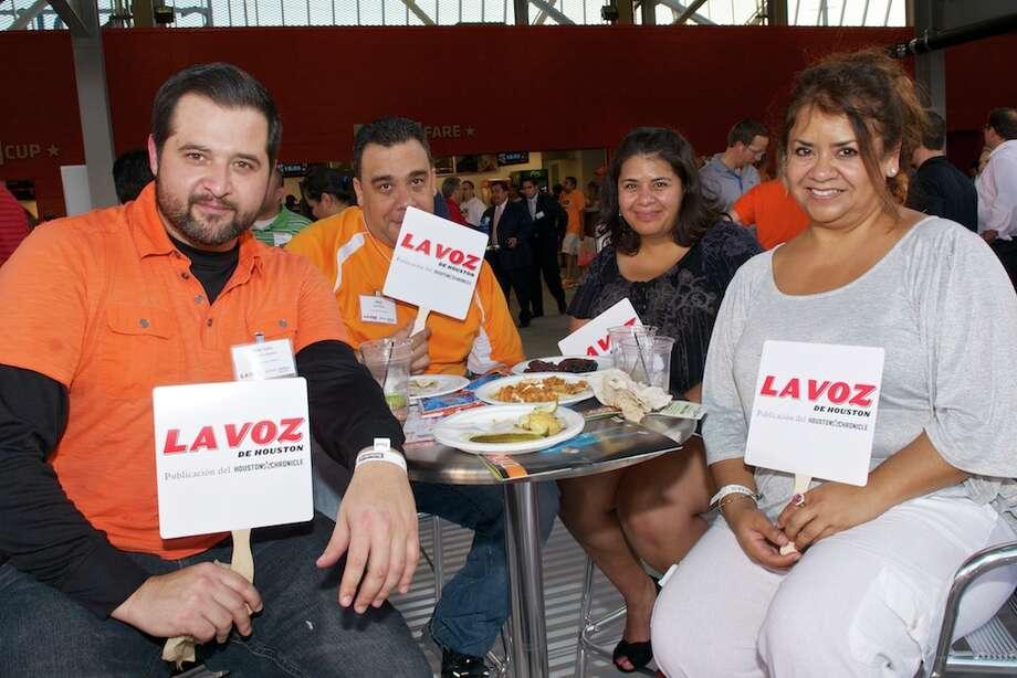 L-R: Jose Luis, Raul Perez, Nohemi Munoz, Eunice Munoz Photo: Jay Dryden
