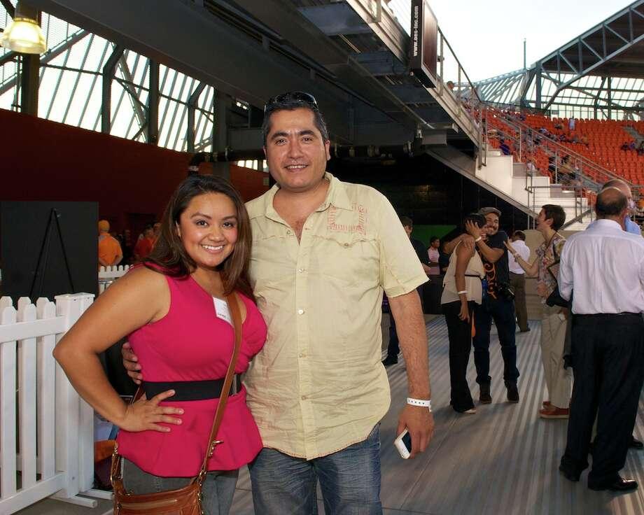 L-R: Jackie Gill, Jorge Olivares Photo: Jay Dryden