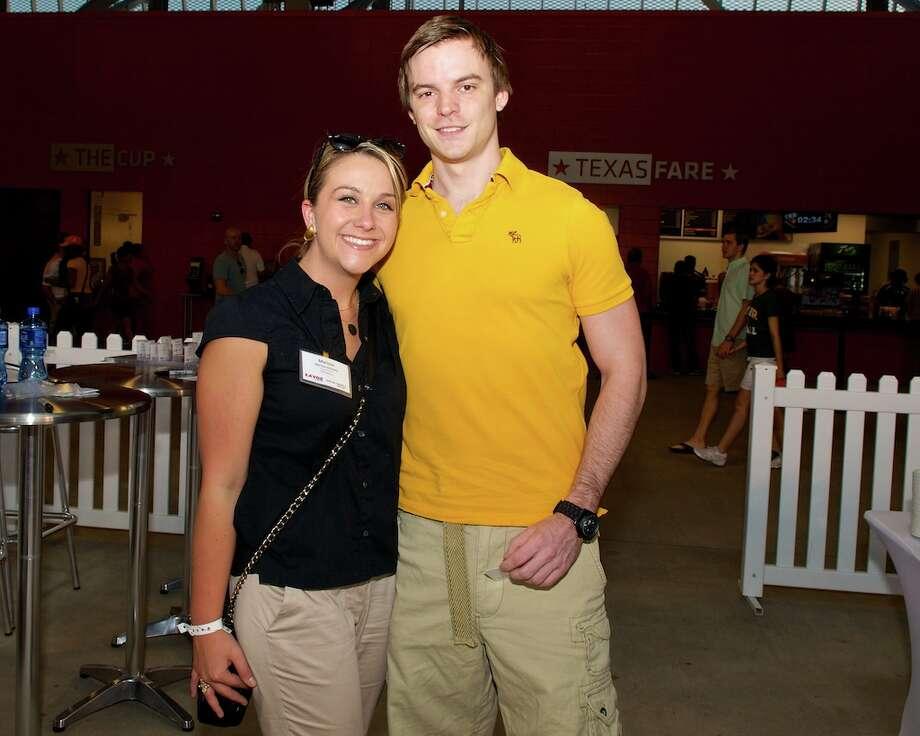 L-R: Marissa Deslatte, Matt Grandits Photo: Jay Dryden