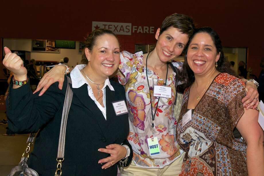 L-R: Mayte Sera-Weitzman, Aurora Losada, Grace Olivares Photo: Jay Dryden