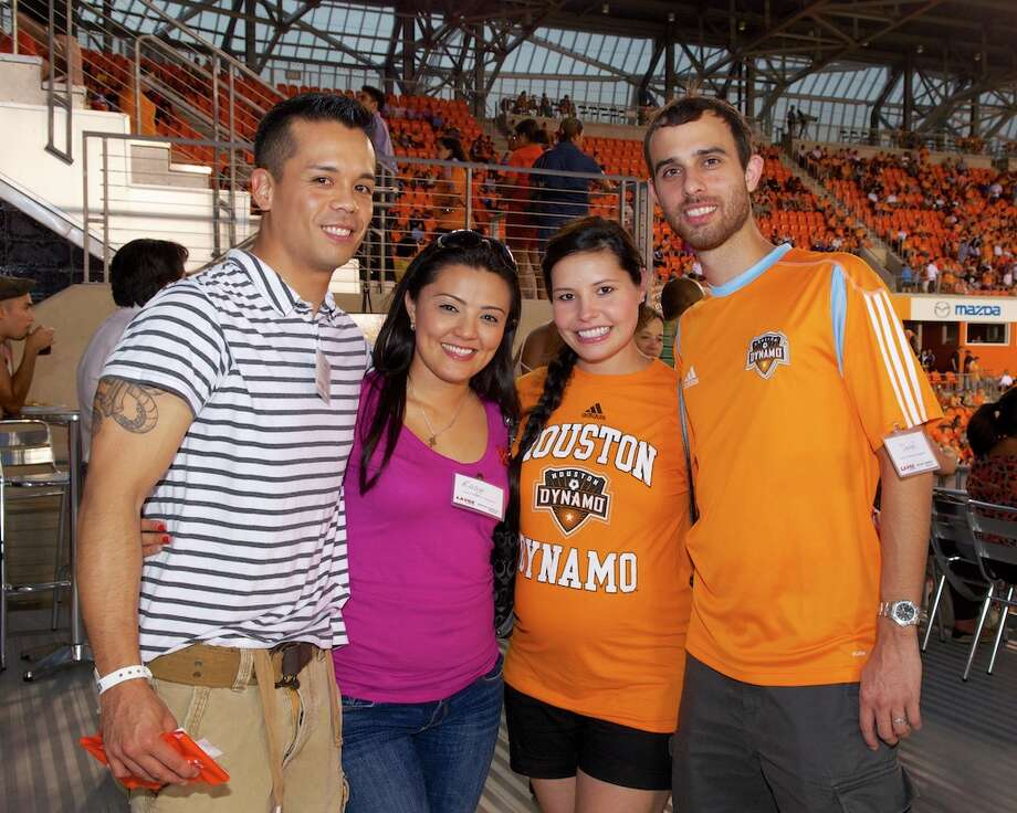 L-R: Jaime Lock, Rosy Lock, Norma Gonzalez, Daniel Gonzalez Photo: Jay Dryden