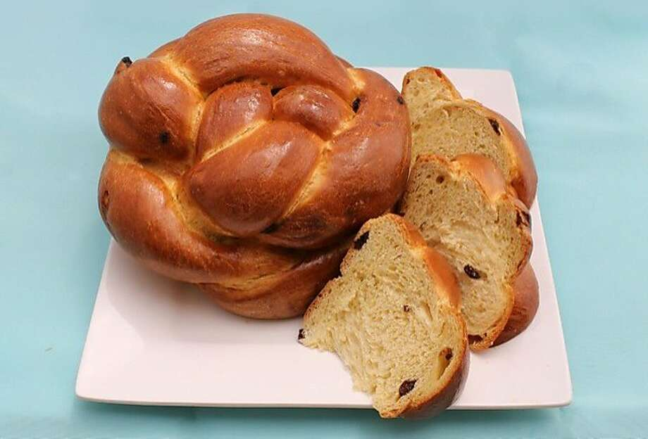 Round challah bread, baked for the Jewish new year, represents the circle of life and the hopes for a complete year ahead. Photo: Pasta Shop