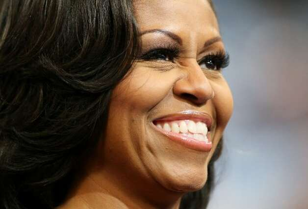 CHARLOTTE, NC - SEPTEMBER 06:  First lady Michelle Obama attends the final day of the Democratic National Convention at Time Warner Cable Arena on September 6, 2012 in Charlotte, North Carolina. The DNC, which concludes today, nominated U.S. President Barack Obama as the Democratic presidential candidate.  (Photo by Chip Somodevilla/Getty Images) (Getty Images)