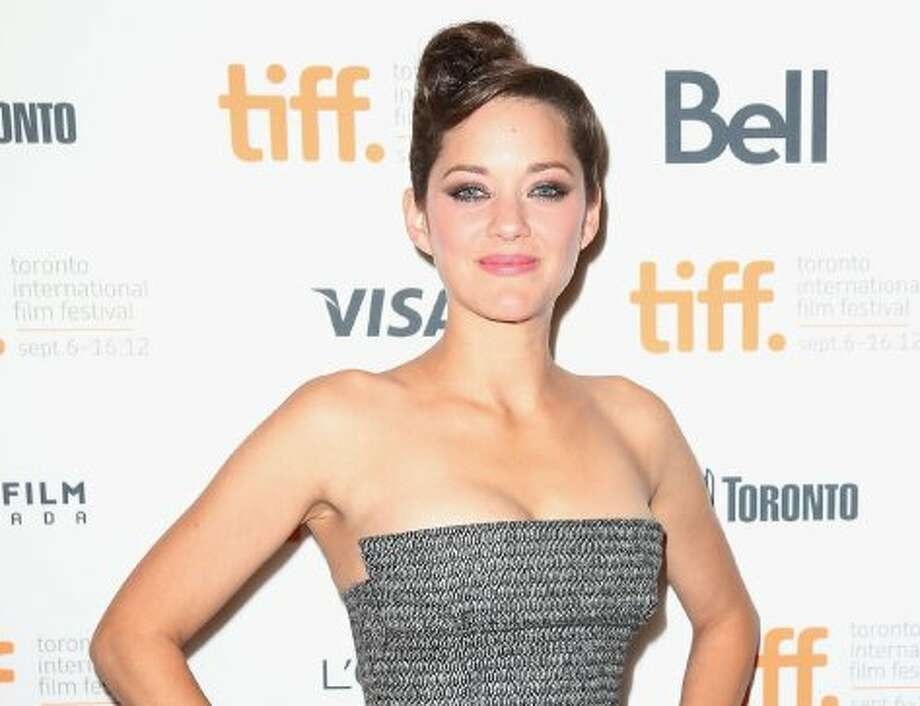 "Marion Cotillard attends the ""Rust & Bone"" premiere during the 2012 Toronto International Film Festival."