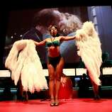 A burlesque dancer performs at the 2012 Toronto International Film Festival.  (Todd Oren / Getty Images)