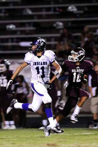 PNG Indians wide receiver Logan Chipman. Photo taken: Randy Edwards/The Enterprise