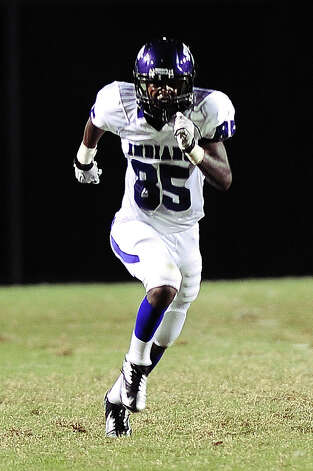 PNG Indians wide receiver Jeremiah Rose. Photo taken: Randy Edwards/The Enterprise Photo: Randy Edwards, Photojournalist / Enterprise