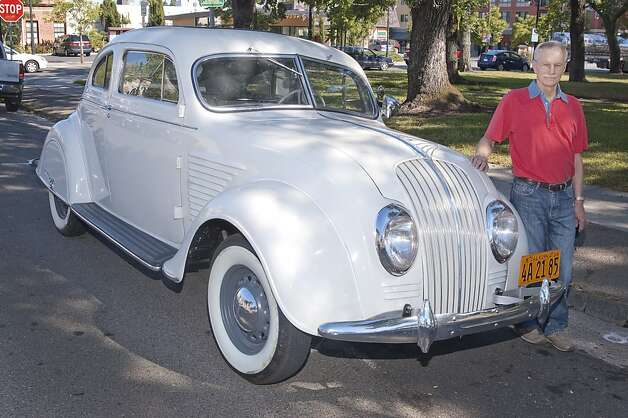 My favorite car, a 1934 DeSoto Airflow coupe, has been in my life for almost 30 years now. It wasn't until I restored it in the last five years that I realized how special and rare it is. Photo: Stephen Finerty
