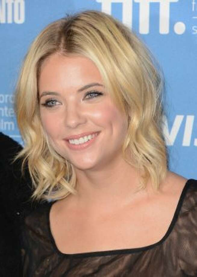 "Actress Ashley Benson attends the ""Spring Breakers"" photo call at the 2012 Toronto International Film Festival. (Jason Merritt / Getty Images)"