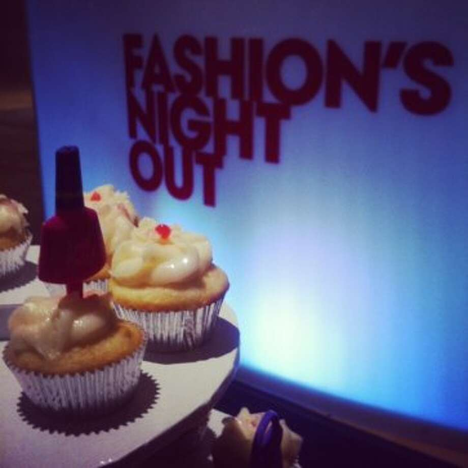The ShopGirl Style Lounge was a scene for Fashion's Night Out at The Galleria.