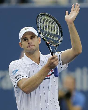 Andy Roddick is a sure Hall of Famer, despite having won only one major. Photo: Mike Groll, Associated Press