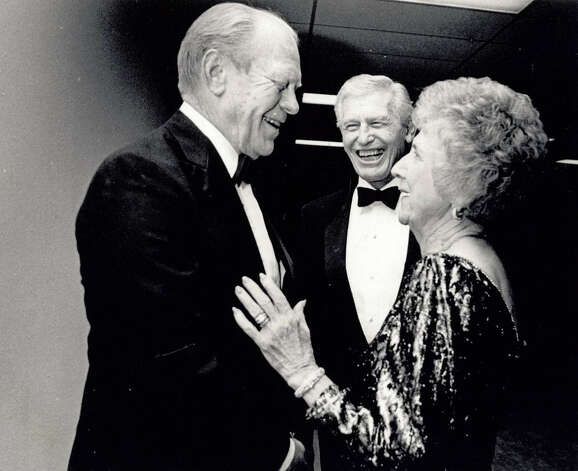 Gerald Ford at the Jefferson County. Enterprise file photo