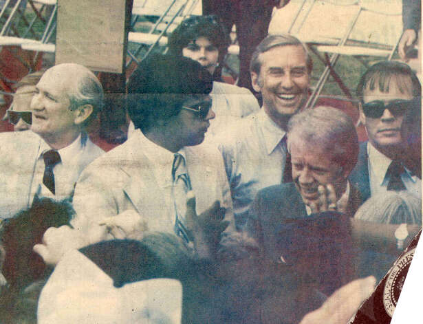 President Jimmy Carter's visit to Southeast Texas on June 25, 1978. Enterprise file photo