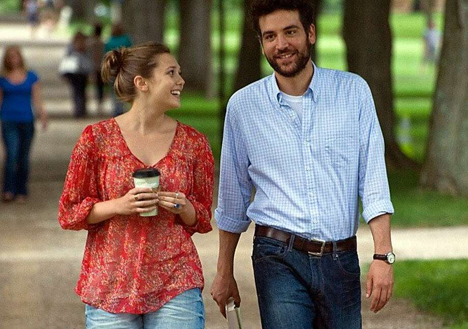 """Elizabeth Olsen and Josh Radnor star in """"Liberal Arts,"""" about a 35-year-old who returns to his alma mater and falls for a sophomore. Photo: IFC Films"""