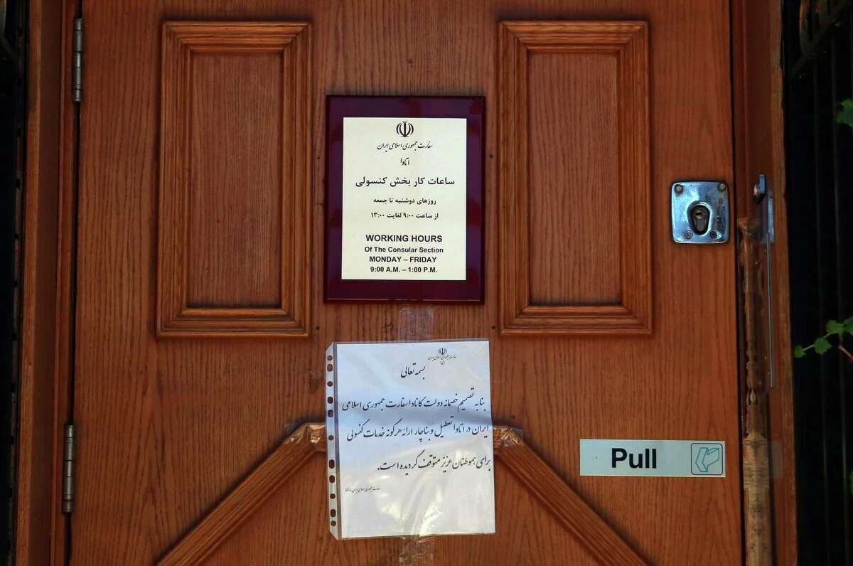 Canada Closes Tehran Embassy Kicks Out Diplomats