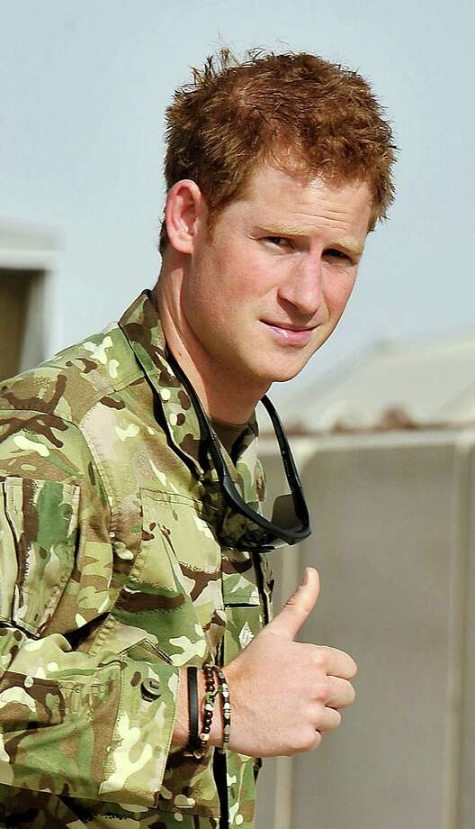 Here is one for the ladies: Britain's Prince Harry was able to block his nudes from getting out.  Photo: John Stillwell / PA Pool