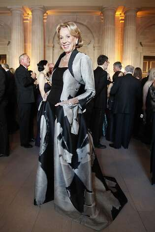 Charlotte Schultz poses in her Carolina Herrera gown at the Opera Ball celebrating the opening of the San Francisco Opera's 90th Season on Friday, Sept. 7, 2012. After cocktail hour those in attendance were entertained with Giuseppe Verdi's Rigoletto conducted by Music Director Nicola Luisotti. Photo: Alex Washburn
