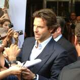 """Bradley Cooper at Toronto International Film Festival on Friday, Sept. 7, 2012 at the premiere of """"The Place Beyond the Pines,"""" a film set in Schenectady and shot in the Capital Region. (Paul Grondahl/Times Union)"""