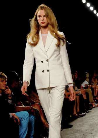 The Billy Reid Spring 2013 collection is modeled. Photo: Louis Lanzano