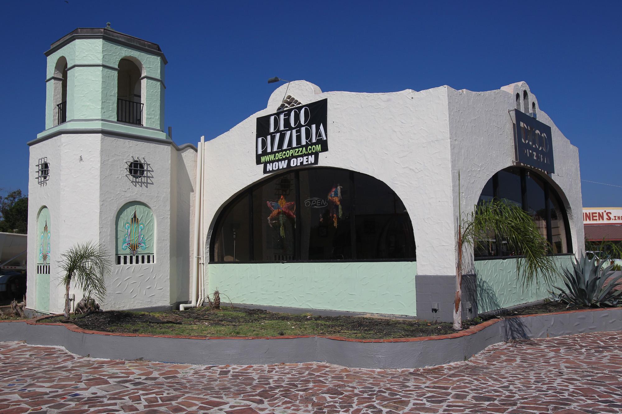Cityscape Deco Pizzeria San Antonio Express News