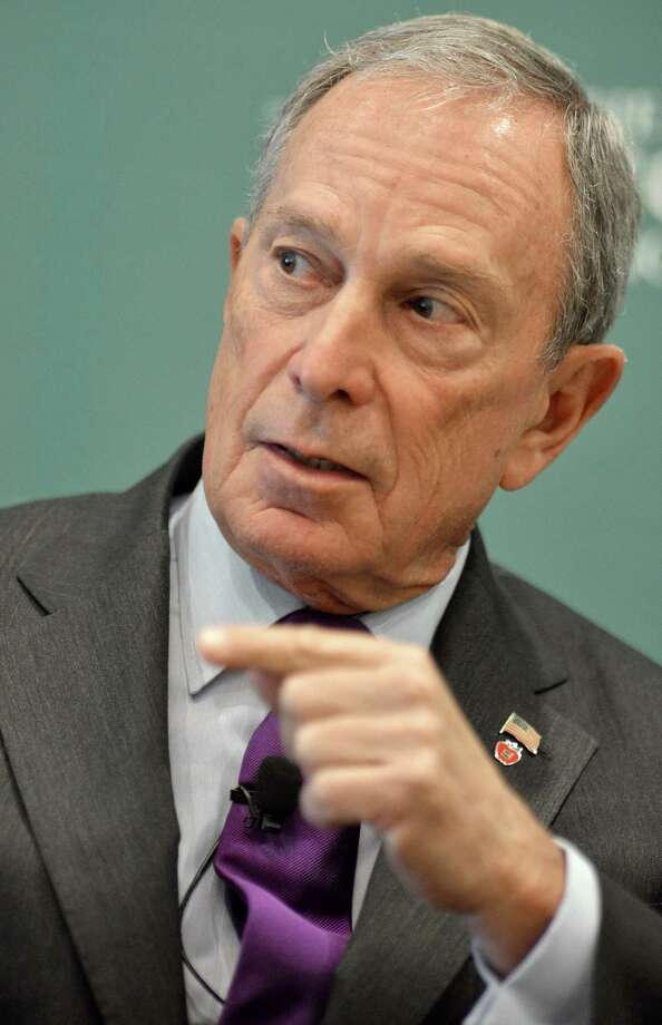 "Michael Bloomberg is worth an estimated $25 billion, according to Forbes. He could have bought the network if he wanted when he was on "" Curb Your Enthusiasm.""  Photo: Josh Reynolds / FR25426 AP"