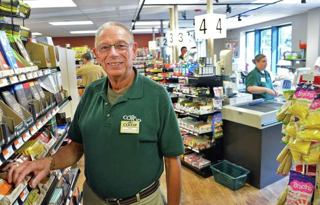 Don Bisgrove, general manager of the Niskayuna Food Co-op, in the recently remodeled store Friday Sept. 7, 2012. (John Carl D'Annibale / Times Union) Photo: John Carl D'Annibale / 00019190A