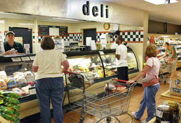 The Deli counter at the Niskayuna Food Co-op, in the recently remodeled store Friday Sept. 7, 2012. (John Carl D'Annibale / Times Union) Photo: John Carl D'Annibale / 00019190A