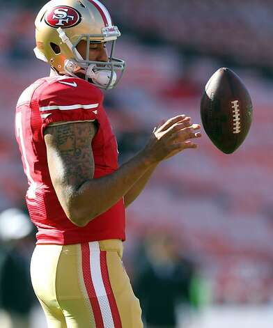 After a lost rookie season, in which he seemed overmatched, Colin Kaepernick now looks ready, if his training camp and preseason performances are any indication. Photo: Lance Iversen, The Chronicle