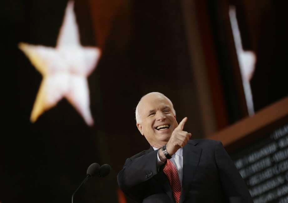The Express-News endorsed John McCain, who lost to Barack Obama in 2008. (Charles Dharapak / Associated Press)