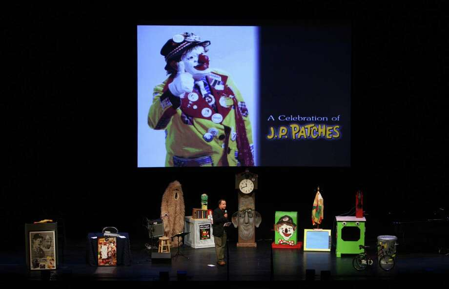 KIRO FM radio host Dori Monson takes the stage during a celebration of JP Patches after the July death of Chris Wedes, the actor who played the iconic character. Thousands gathered in McCaw Hall on Saturday, September 8, 2012 to honor Wedes and the beloved character he gave to children and their parents. Photo: JOSHUA TRUJILLO / SEATTLEPI.COM