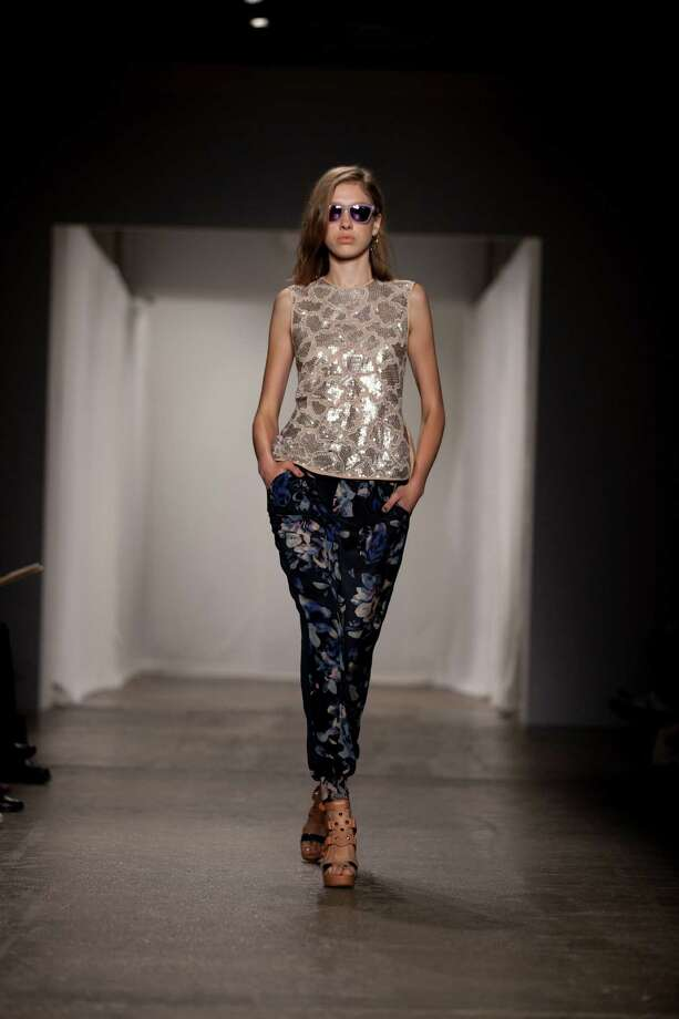 The Rebecca Taylor Spring 2013 collection is modeled. Photo: Karly Domb Sadof