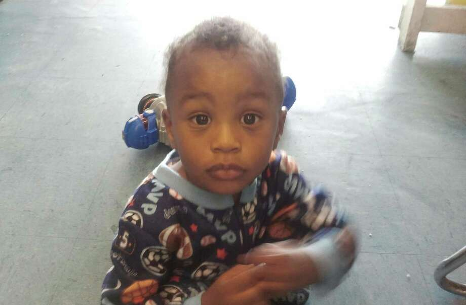 In this Nov. 25, 2011 photo provided by the Columbia S.C., Police Dept., 18-month-old Amir Jennings is shown near Columbia, S.C. Amir disappeared on December 2011 while in custody of his mother. Amir's mother, Zinah Jennings, has been on trial on a charge related to his dissapearance.  (AP Photo/Columbia S.C., Police Dept.) Photo: Anonymous / Columbia S.C., Police Dept