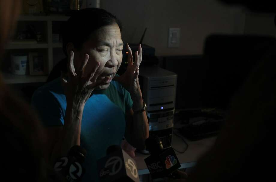 Jean Hipon, grandmother of Brooklynn and Devin Maffei, describes their father, Christopher Maffei's state of mind, when he allegedly kidnapped the two children on Tuesday in South San Francisco, Calif. Photo: Mathew Sumner, Special To The Chronicle