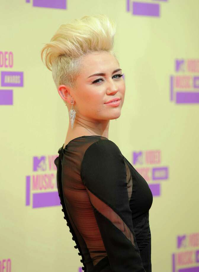 Miley Cyrus debuted an edgy new look. Photo: Jordan Strauss / Invision