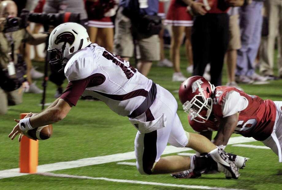 Louisiana-Monroe has played in four overtime games this season, winning three of them. Photo: Daniel Johnston / AP