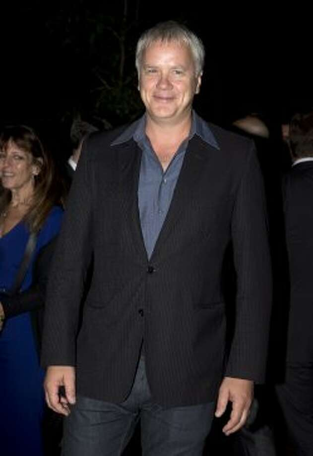 "Tim Robbins poses on the red carpet at the gala for the new movie ""Thanks For Sharing."" (AP)"